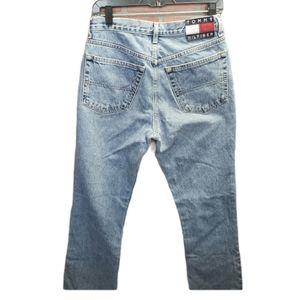 Vintage 98 Tommy Hilfiger Large Logo Mom Jeans